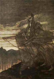 Three Fates by Arthur Rackham