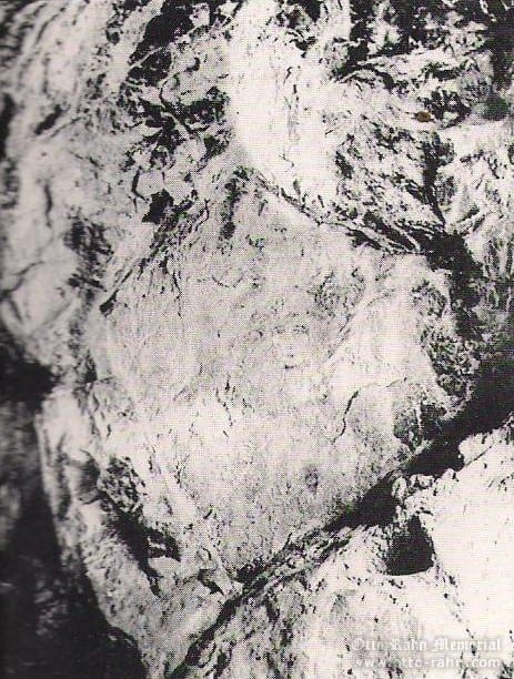 Face of Beatrice in the Stone Pentagram of the Bethlehem Grotto