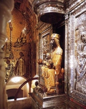 Black Madonna of Rennes-le-Chateau