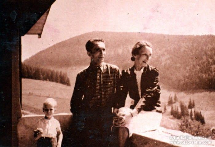 Otto Rahn and Asta Bach