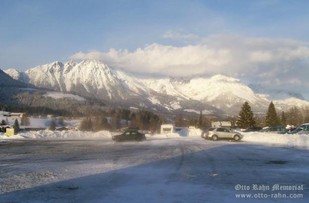Wilder Kaiser Mountains.