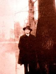 Otto Rahn in fedora