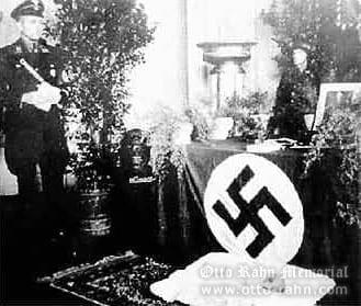 Otto Rahn in SS uniform