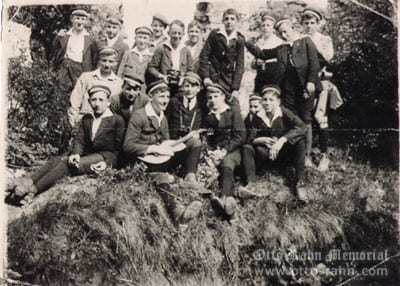 Otto Rahn amongst the Wandervogel scouting movements, 1919, Giessen