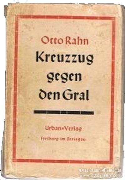 Otto Rahn First edition of Kreuzzug gegen den Gral