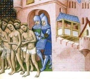 Les Cathares chassés de Carcassonne
