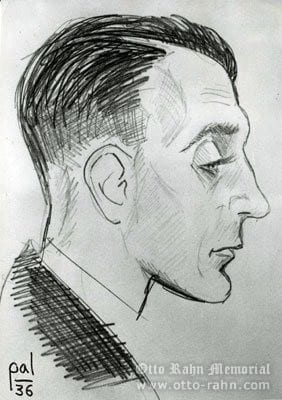 Portrait of Otto Rahn by Ladame