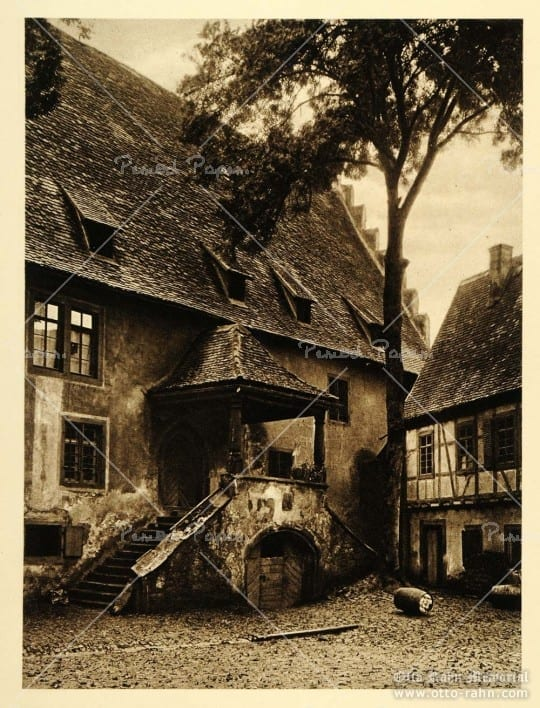 1924, Michelstadt, Wine Barrel, by Kurt Hielscher