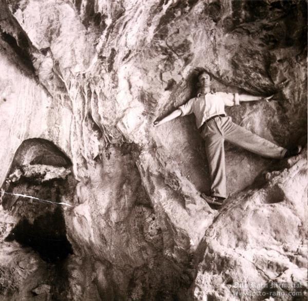 Initiatory pentagram - Bethlehem grotto - summer 1932