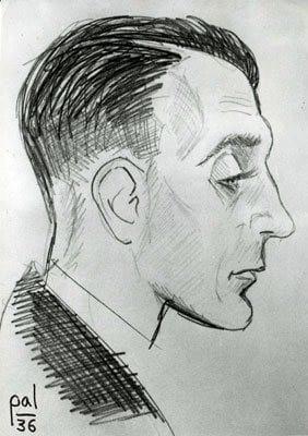 a portrait of Rahn by Ladame